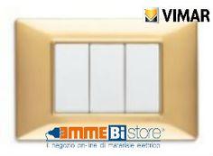 Placca 3 posti Vimar Plana 14653.24 #vimar #seriecivile #plana #prezzoplacce #arredare #arredamento #design #illuminazione #interni #emmebistore #placca