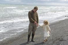 "Michael Fassbender and Florence Clery in ""The Light Between Oceans"" Ocean's Movies, Film Movie, Good Movies, Movie Scene, Michael Fassbender And Alicia Vikander, The Light Between Oceans, Mr Perfect, Film Music Books, Good Good Father"