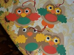 prek owl crafts | All the kids have been doing the forest animal sorts and we talked ...
