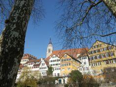 Neckarfront mit Stiftskirche