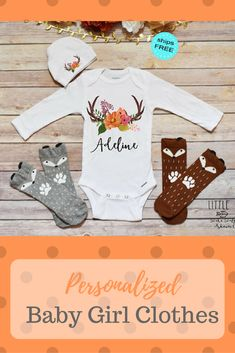Boho Baby Clothes, Baby Girl Clothes, Baby Shower Gift #ad