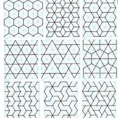 geometric patterns by patricé