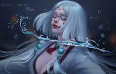 Mother spider demon by nishihiku on DeviantArt Me Anime, Fanarts Anime, Anime Demon, Kawaii Anime, Anime Characters, Manga Anime, Anime Art, Era Taisho, Slayer Tattoo