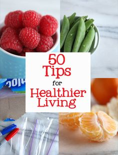 50 Easy Tips for a Healthy Lifestyle...wow I could totally do lots of these! yes! get your own Quality Health and Beauty