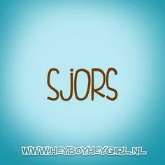 Sjors (Voor meer inspiratie, en unieke geboortekaartjes kijk op www.heyboyheygirl.nl)