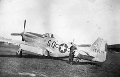 "North American P-51D-20-NA Mustang 44-64105 Named ""Shirley"" of the 354th Fighter Group, 355th FS"