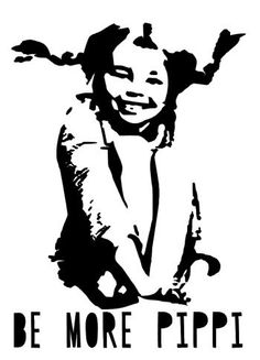 DIY iron application of professional flex foil with Pippi Longstocking. - DIY iron application of professional flex foil with Pippi Longstocking. Pippi Longstocking, Plotter Silhouette Cameo, Some Body, Iron On Transfer, Banksy, Vinyl Wall Decals, Illustration, Street Art, Drawings