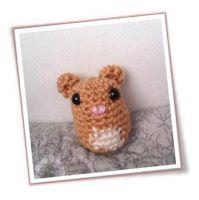 Frida Kahlo Amigurumi Free Pattern : Crochet Rodents on Pinterest 20 Pins