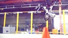 This leaked video shows a new robot overlord on wheels from Boston Dynamics Read more Technology News Here --> http://digitaltechnologynews.com  In a leaked video from a presentation by Boston Dynamics a new concept robot called 'Handle' was unveiled.   'Handle' is a two-wheeled robot with self-balancing abilities. It also has some basic stunt capacities like jumping over barriers. Read more...  More about Future Tech Future Robots Real Time Video and Real Time Source/Original Post…