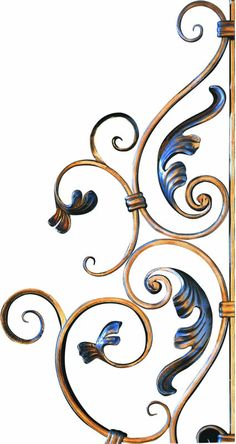 Fatih Wrought Iron Ornamental Ferforje Decorative Ferforge