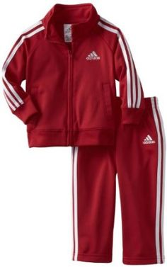 Amazon.com: adidas Baby Infant Core Tricot Set: Clothing