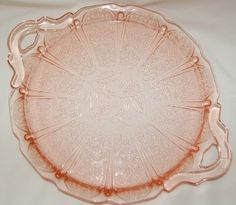 round platter in the cherry blossom pattern