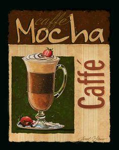 """""""Caffe Mocha"""" / Janet Stever"""