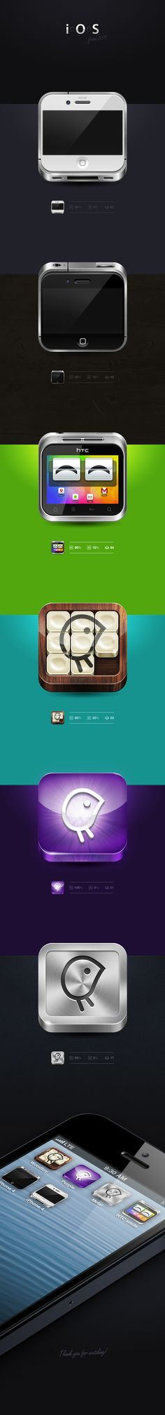 some iOS icons from 2011