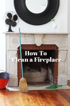 No matter how clean a room may be, a dirty fireplace can make it look messy and unkempt. Tidying up can take time and effort, but the end results are rewarding, and will help keep your fireplace in great working order. Cleaning Painted Walls, Fireplace Apartment, Deep Cleaning, Home, Cleaning Hacks, Simple Life Hacks, Spring Cleaning, Clean Fireplace, Fireplace