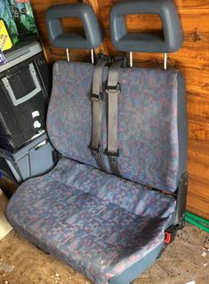 Double camper seat with 2 built in seat belts for sale Vw Camping, Camping World, Built In Seating, Seat Belts, Campervan, Van Life, Motorhome, Cars For Sale, Volkswagen