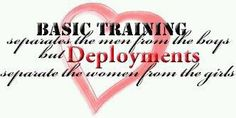 Ha! And What If I've Been Through Both?! Basic Training As An Army Soldier And A Deployment As A Navy Wife.