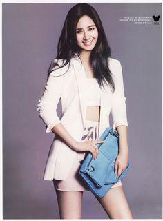 Girls Generation[SNSD] Yuri on Instyle Magazine May 2014 Issue Yoona, Sooyoung, Japanese Fashion, Korean Fashion, Asian Woman, Asian Girl, Yuri Girls Generation, Taeyeon Jessica, Snsd Fashion