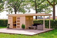 HappyModern.RU | Дачные домики для 6 соток (проекты, 53 фото): мал золотник, да дорог! | http://happymodern.ru