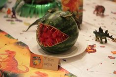dinosaur birthday party for boys food idea