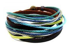 MIXI Mens Womens Exclusive Multi Cross Belt Genuine Leather Bracelet Wristband MIXI http://www.amazon.com/dp/B00UAPCX00/ref=cm_sw_r_pi_dp_KkCUvb0XY5FNQ