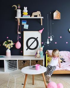 Kids Interiors and Decor - MIMI'lou feature on www.fourcheekymonkeys.com