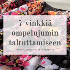 7 vinkkiä ompelujumin parantamiseen Cover, Books, Libros, Book, Book Illustrations, Libri