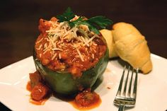 Italian Stuffed Peppers #Italian #food #recipe #Appetizers Ok my Daddy made these and they were delicious.. I only hope mine will turn out as good as his..