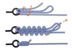 Fishing Line Knots, Fishing Tips, Fishing Lures, Survival Knots, Survival Skills, Strong Knots, Weaving Loom Diy, Knots Guide, Rope Knots