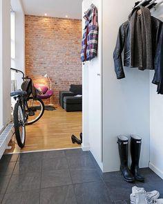 boots + leather + bike