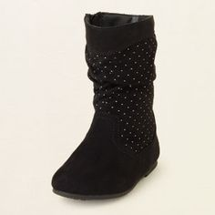 baby girl - shoes - studded boot | Children's Clothing | Kids Clothes | The Children's Place