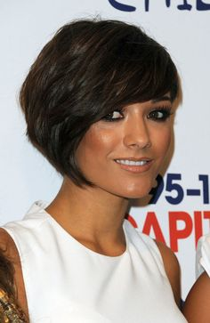 Frankie Sandford from The Saturdays