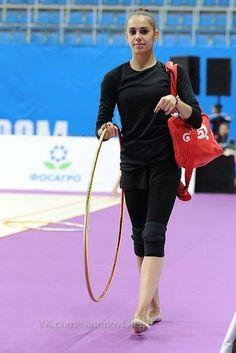 Margarita MAMUN (RUS) Hoop Training