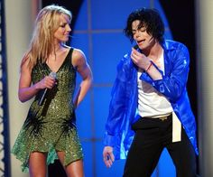 Pin for Later: Remembering Michael Jackson, 6 Years Later  Britney Spears and MJ performed a duet at his 30th Anniversary Special in NYC in 2001.