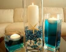 beach themed centerpieces - Bing Images