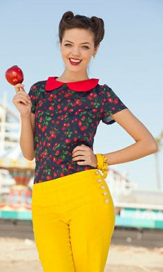 Shop Shabby Apple for collared blouses for women. We offer a great selection of vintage-inspired tops and other stylish clothes for women. Curvy Outfits, Outfits For Teens, Cool Outfits, Shabby Apple, Stylish Clothes For Women, Blouse Vintage, Vintage Outfits, Vintage Clothing, Vintage Fashion