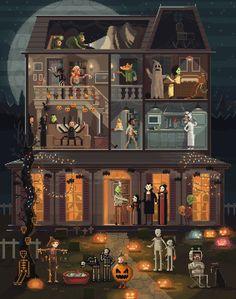 Amazing Pixel Art by Pixel, Huh