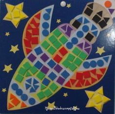 Manualidadesconmishijas: Gomets, ¡que entretenido! Space Theme Preschool, Girl Scout Crafts, Space Party, General Crafts, Solar System, Holiday Crafts, Activities For Kids, Diy And Crafts, Rockets