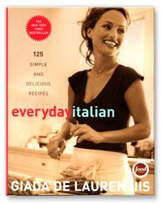 Giada's Everyday Italian is a fantastic cookbook, BEST homemade marinara sauce E-V-E-R...