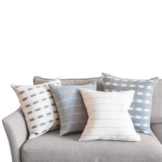 Pillows & Throws > Decorative X - Selam Pumice Pillow Pumice, Pillow Talk, Modern Room, Grey Stripes, Hand Weaving, Bed Pillows, Pillow Cases, Home, Design