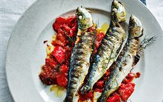 http://www.telegraph.co.uk/foodanddrink/recipes/11593047/Grilled-sardines-with-fennel-and-slow-cooked-redpeppers-recipe.html