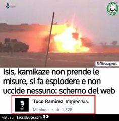 ISIS, kamikaze non prende le misure, si fa esplodere e non uccide nessuno: scherno del web. Imprecisis