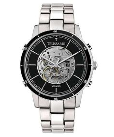 Features: Stainless Steel Case Stainless Steel Bracelet Automatic Movement Caliber: Mineral Crystal Black Skeleton Dial Analog Display See Through Case Back Deployment Clasp Water Resistance Approximate Case Diameter: Approximate Case Thickness: High End Watches, Watches For Men, Cheap Watches, Stainless Steel Bracelet, Stainless Steel Case, Luxury Watches, Rolex Watches, Silver Pocket Watch, Popular Watches