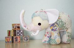 send in your fabrics (baby clothes, quilt, blankie) and Ashley from Lily & Gus will turn it into a stuffed animal keepsake