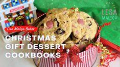 Christmas Gift Dessert Cookbooks Baking Desserts, No Bake Desserts, Dessert Cookbooks, Wonderful Recipe, Macarons, Christmas Gifts, Sweets, Magazine, Eat