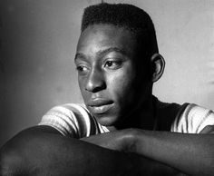 Pelé in 1958 prior to his World Cup debut. Photo: Popperfoto/Getty Images
