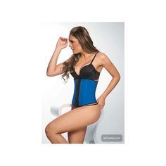 49feedc1f2 Enhanced exercise  A fitness corset claims to help aid in weight loss when worn  during exercise