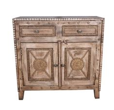 Designe Gallerie Elyza Two Door Wooden Accent Cabinet, Buffet, 2 Drawers for Storage, Living, Dining Room, Rustic Handcrafted Look-Whitewash Finish #CuteGiftIdeas #Gift #AccentChest Navy Blue Area Rug, Blue Area Rugs, Dinning Room Buffet, Buffet Cabinet, Accent Chest, Rose Shop, Wooden Chest, Cute Gifts, Whitewash