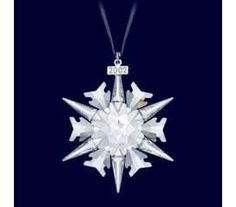 Swarovski Christmas Ornament 2002 Limited Edition 288802 -- To view further for this item, visit the image link. Swarovski Christmas Ornaments, Swarovski Snowflake, Crystal Snowflakes, Snowflake Ornaments, Swarovski Crystals, Christmas And New Year, White Christmas, Xmas, Snowflake Designs