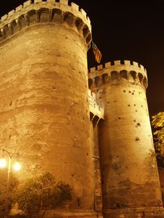 CASTLES OF SPAIN (2) - Torres de Quart, Valencia, Spain